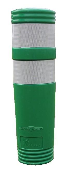 J12 BALISETA směrový sloupek zelený